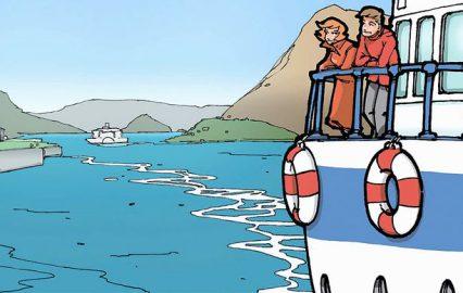 古い記事: LEAVING KAGOSHIMA(鹿児島を離れる)/親子同