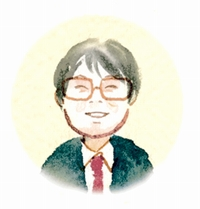 園田 尚志支局長イラスト