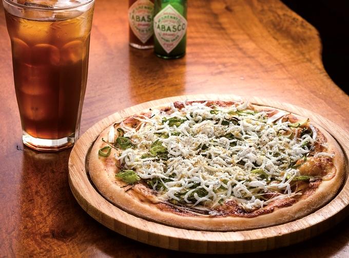 イタリア食堂ビアマーレの「きまぐれピザ」