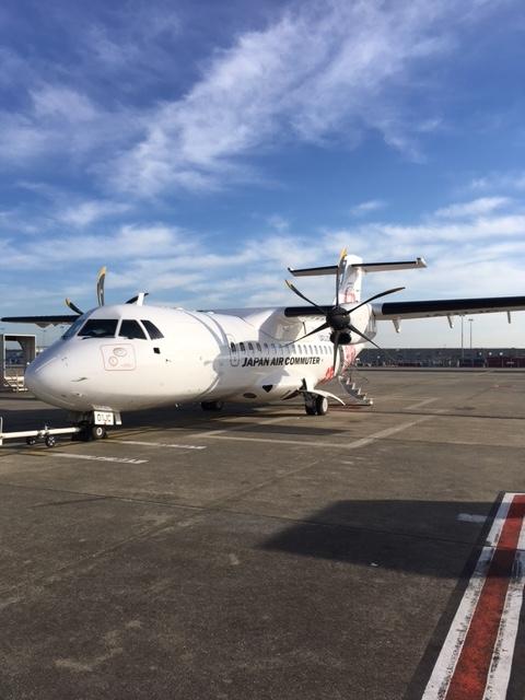 ATR42-600型機 JAC・日本エアコミューター