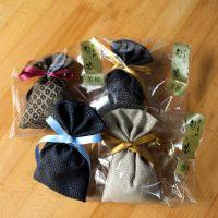 開聞山麓香料園大島紬を使った匂い袋