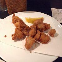 鶏もも焼き史門のボンジリ唐揚