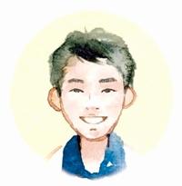大川 源太郎 記者イラスト