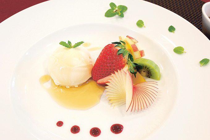 黒酢のデザートソース〜バニラアイスと一緒に〜