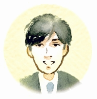 山下 翔吾 記者イラスト