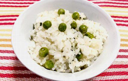 古い記事: かごしま旬野菜レシピ | 実エンドウご飯