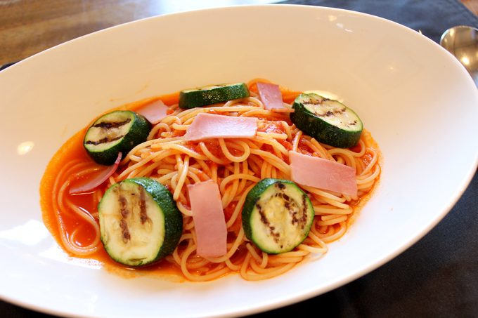 プリモピアット「スパゲッティランチ」