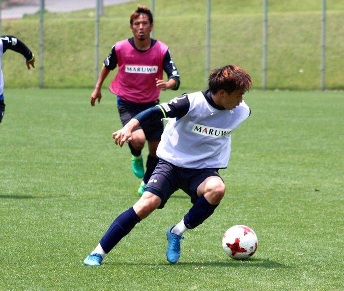 鹿児島ユナイテッドFC MF/ナ ソンス 選手