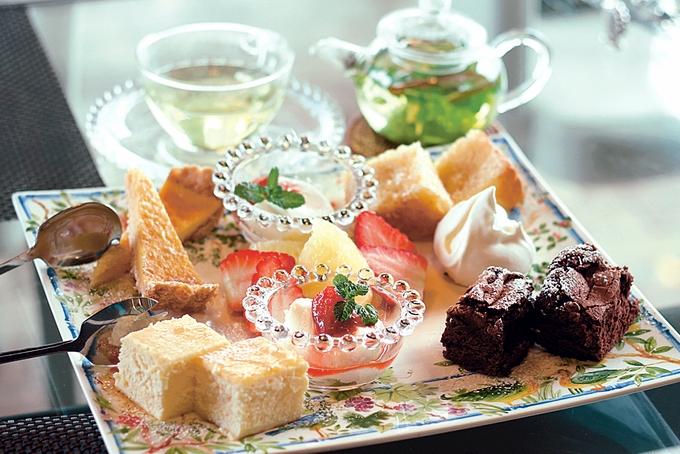 Kura_倉Cafe「フルーツGardenセット」