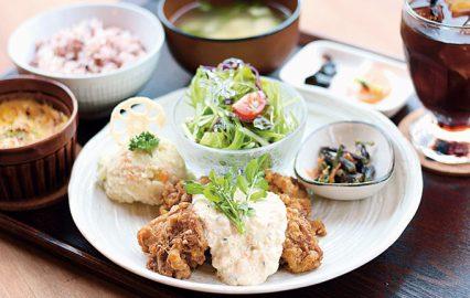 カフェ食堂ジュジュの「JyuJyu定食」