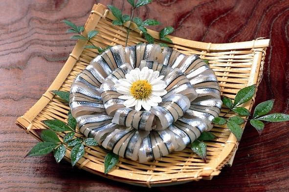 甑島グルメの一つ キビナゴ料理