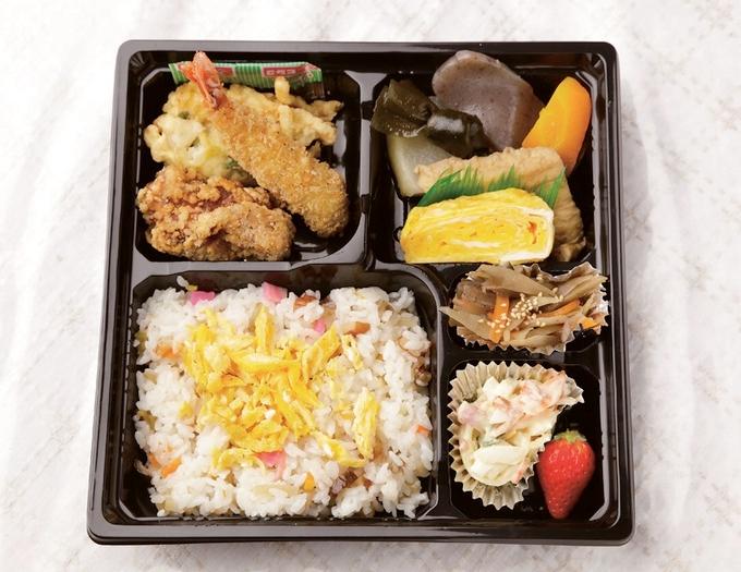 田尻商店の寿司弁当