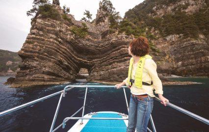古い記事: 話題沸騰・甑島。クルージングにグルメまで、魅力あふれる島を満