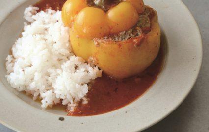 古い記事: パプリカの肉詰めは弱火でコトコト煮る | 多仁亜の旬を食べる