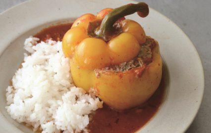 古い記事: パプリカの肉詰め | 多仁亜の旬を食べるレシピ