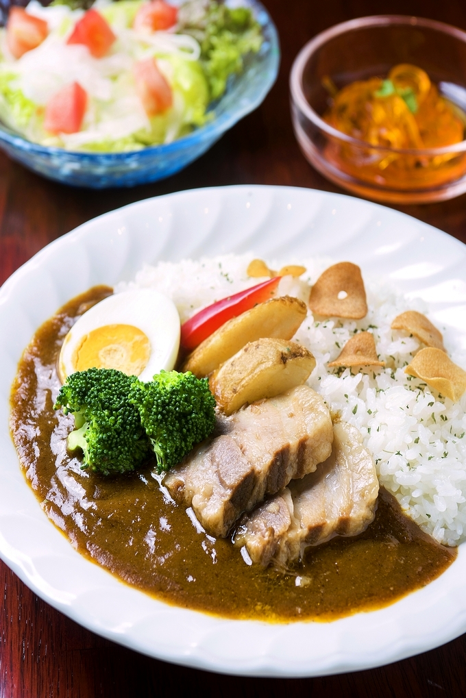 遊食豚彩いちにぃさん 黒豚角煮カレー