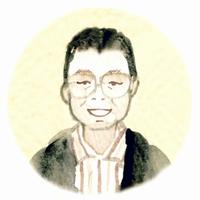 霧島総局 藤崎慎二記者イラスト