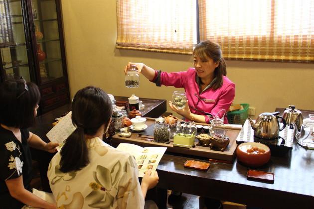 中国茶の茶葉店