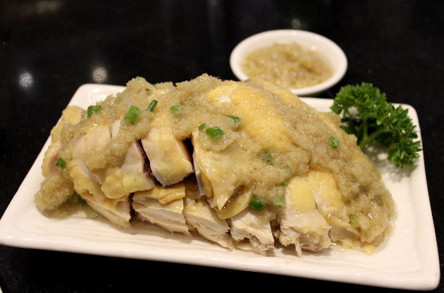 鶏肉を使った上海料理