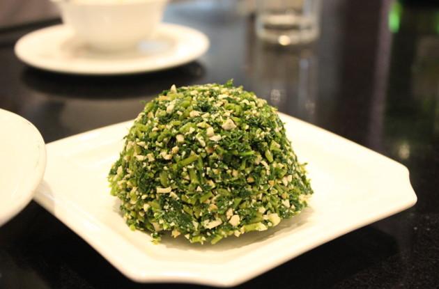 野菜を使った上海料理