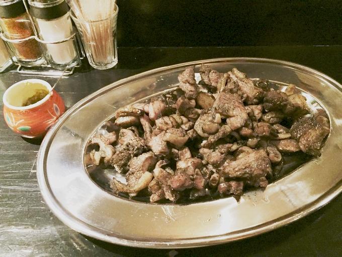 鶏もも焼き史門の鶏もも焼