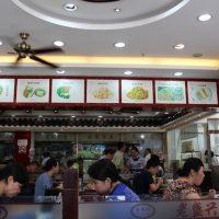 上海で蘇州麺を食べた食堂
