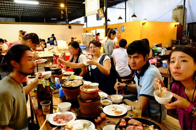 タイ・チェンマイでウマい飯