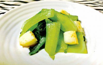 古い記事: チンゲン菜とイカの中華炒め | かごしま旬野菜レシピ
