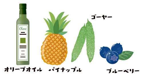 ACEジュース材料イラスト