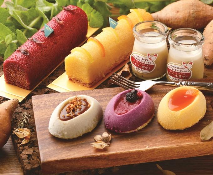 南風農菓舎デザートハウス スイートポテト・アラモードなど