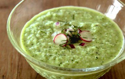 古い記事: 爽やかなキュウリの冷製スープ | 多仁亜の旬を食べるレシピ