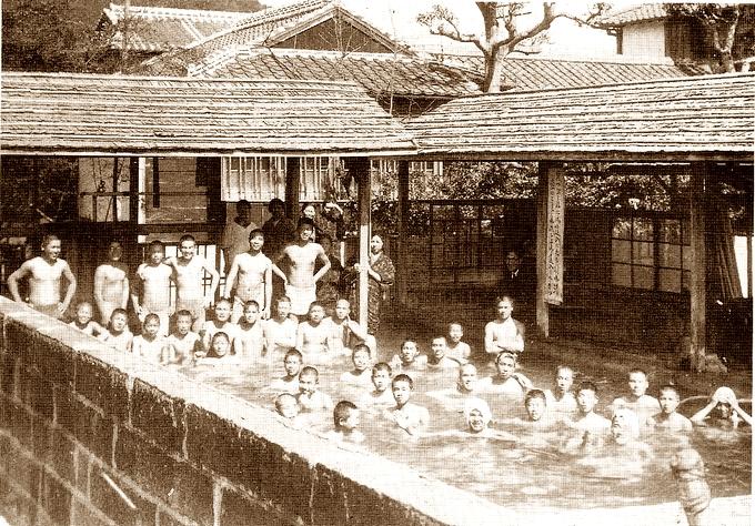 昭和16年の湯之元温泉 菊屋旅館