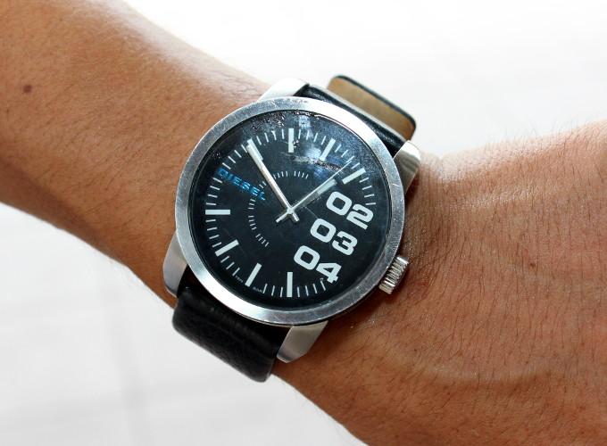 鹿児島ユナイテッドFC田上裕選手の腕時計