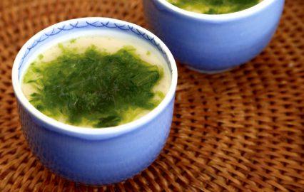 古い記事: 牡蠣の入ったアオサノリのあんかけ茶碗蒸し | 多仁亜の旬を食
