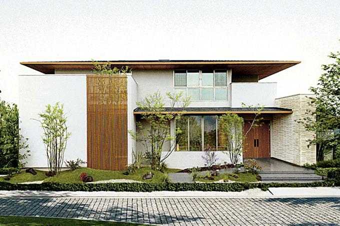 鹿児島モデルハウスの外観