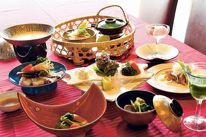 OCEAN RESORTえぐち家レストラン「UOKAI」 美食会席