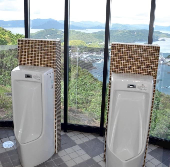 針尾公園「空中展望トイレ」(出水郡長島町)