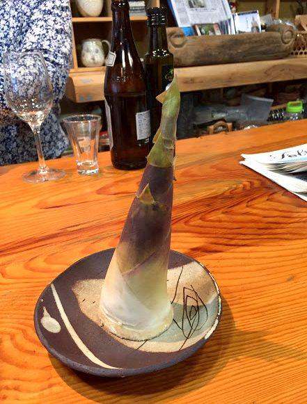 日置市日吉町の特産品「緑竹」