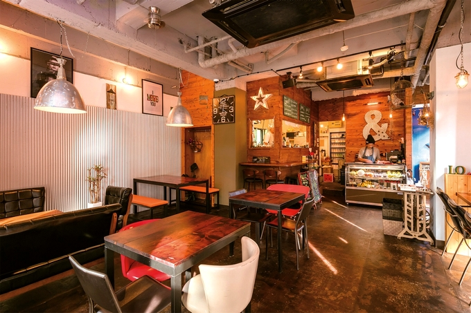 VEGE CAFE LO(ベジカフェ・ロー)店内