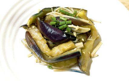 古い記事: ナスとエノキの簡単あえ物 | かごしま旬野菜レシピ