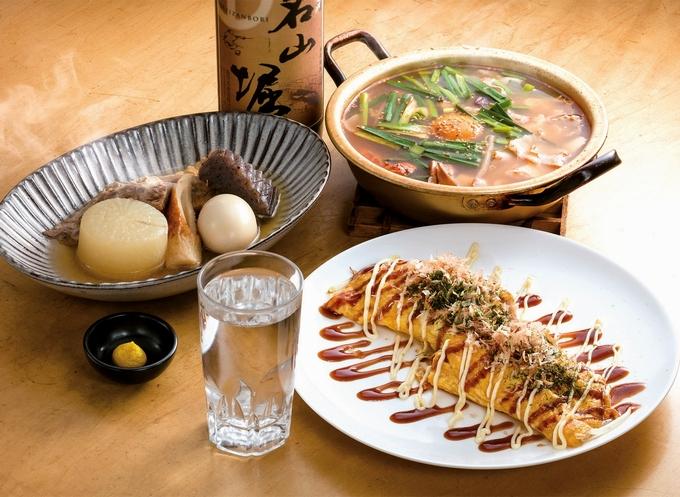 OH勝手処 堀の家(おかってどころ・ほりのうち)塩おでん、豆腐チゲ鍋、とん平焼き