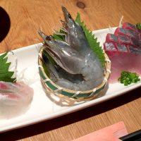 さつま海鮮ろばた焼 チキンブラザーズの刺身3種盛り