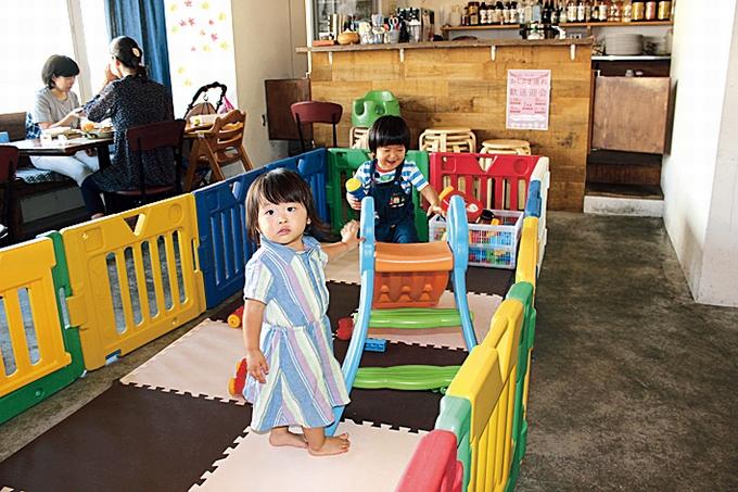 つばめcafe キッズコーナー
