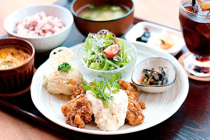 cafe食堂JyuJyuの「JyuJyu定食」