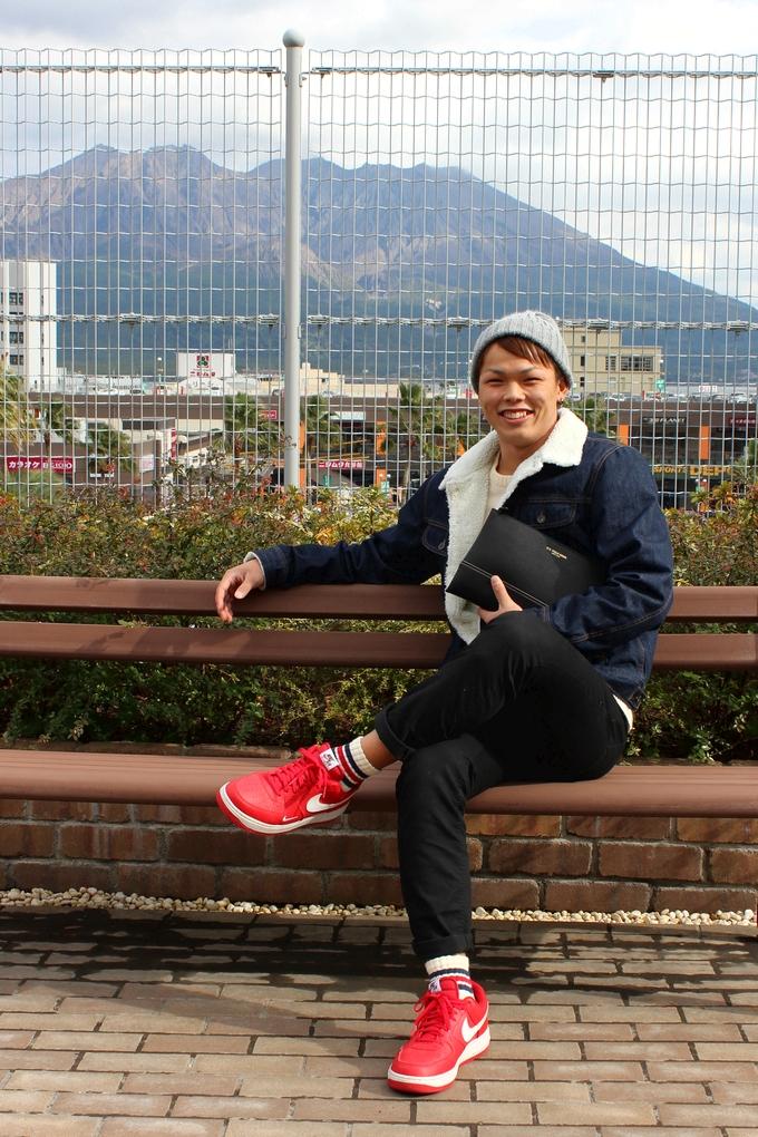 鹿児島レブナイズ 山田 安斗夢選手の私服