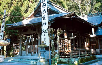 妙円寺詣りの目的地・徳重神社