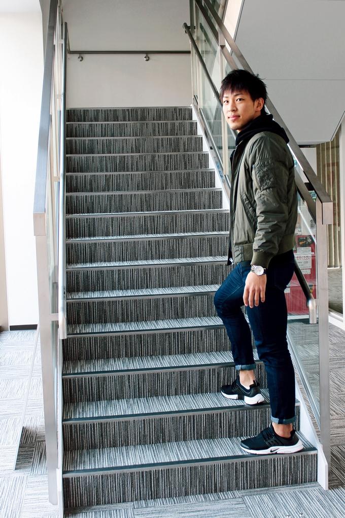 鹿児島レブナイズ 玉田博人選手の私服