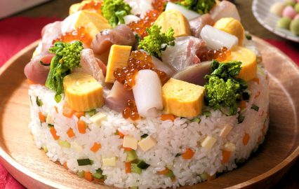 海鮮サラダずし