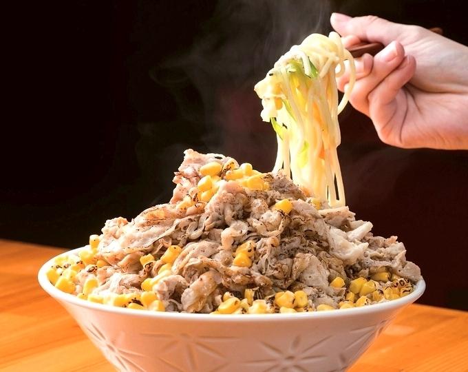 湊食堂「肉盛りちゃんぽん」
