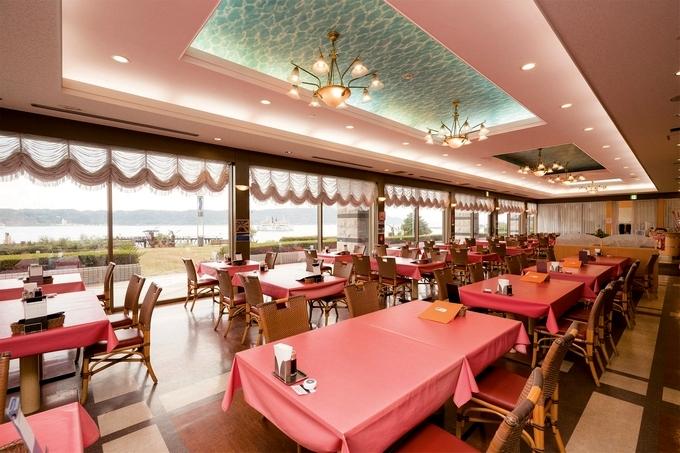 レインボー桜島 レストラン